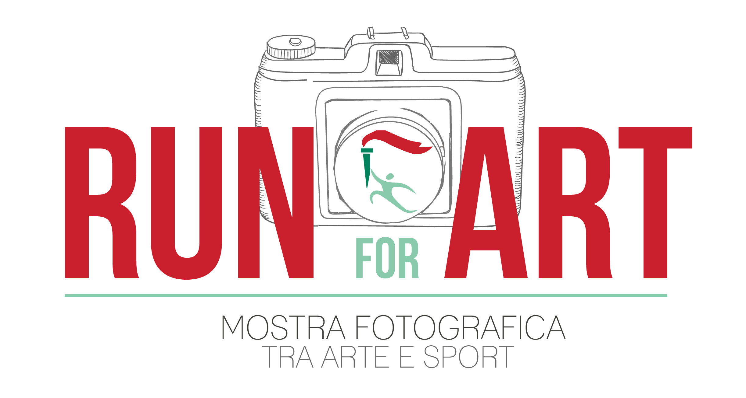 Logo Run for Art mostra fotografica